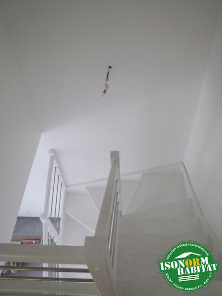 Escalier HEVEA lamellé collé