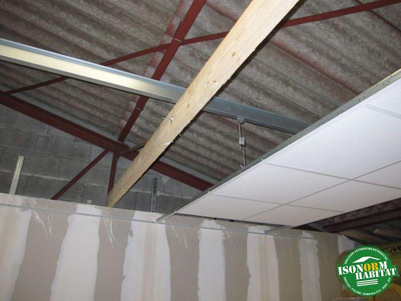Plafonds cadrette