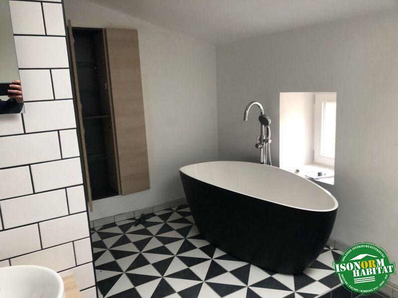 Salle de bain posée