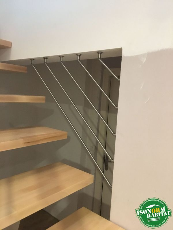 Sécurité au niveau de l'escalier
