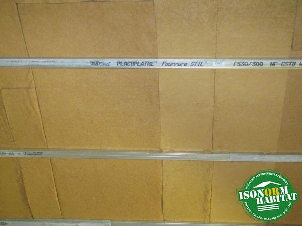 Détail de fibre de bois