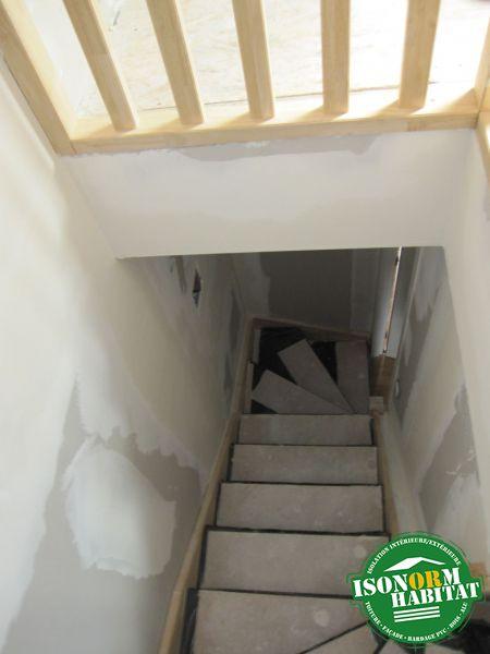 Escalier vu du dessus