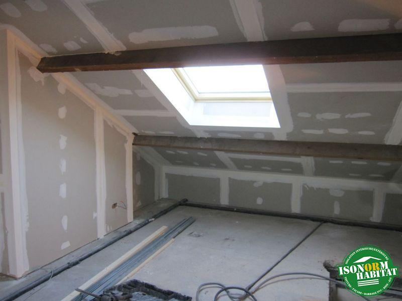 Enduisage des plafonds