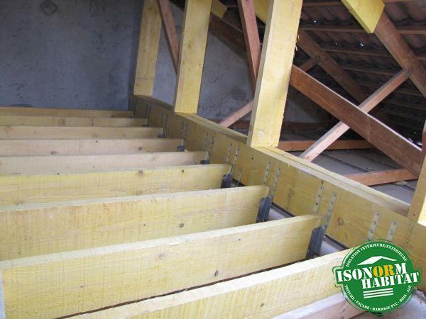 R alisations isonorm habitat am nagement de combles for Realisation plancher bois etage